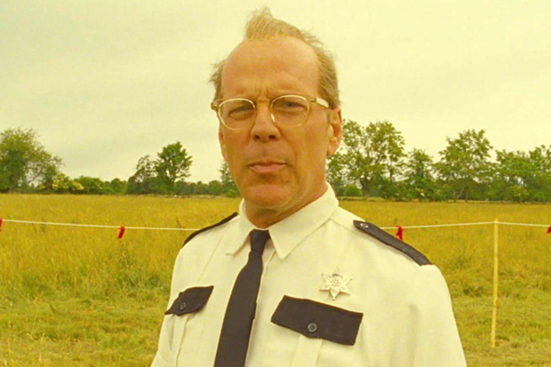 """16. Januar 2012: Erst auf den zweiten Blick erkennt man, dass es sich um Schauspieler Bruce Willis handelt. Für den Film """"Moonri"""