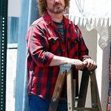 """16. Juli 2012: Kaum zu erkennen ist Alan Rickman in seiner Rolle als Club-Besitzer Hilly Kristal in dem Film """"CBGB""""."""