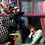 """2. Mai 2012: Nicole Kidman dreht für """"The Railway Man"""" im schottischen Bo'ness eine Szene im Zug."""