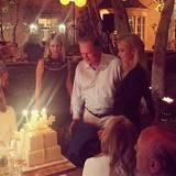 Die Hiltons feiern den Geburtstag von Familienoberhaupt Richard Howard Hilton.