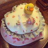 Paris Hilton hat für ihre schwangere Schwester Nicky eine Babyshower-Party samt cooler Torte geschmissen.