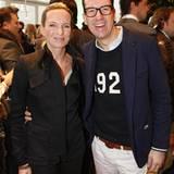Dorothee Ingwersen (Olsen GmbH) und Jan Kruse (Lacoste)
