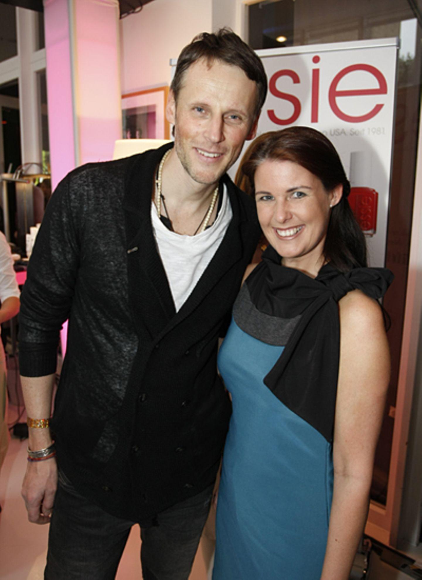Thorsten Link (Diesel) und Katja Lessmeister (Apollo-Optik)