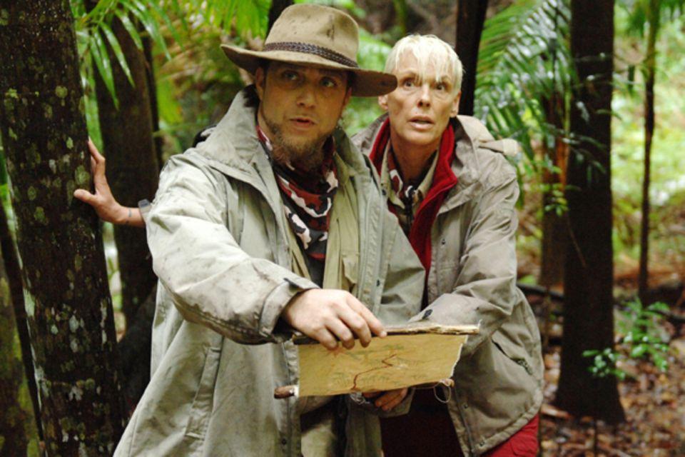 Am fünften Tag werden Martin Kesici und Brigitte Nielsen auf Schatzsuche geschickt.