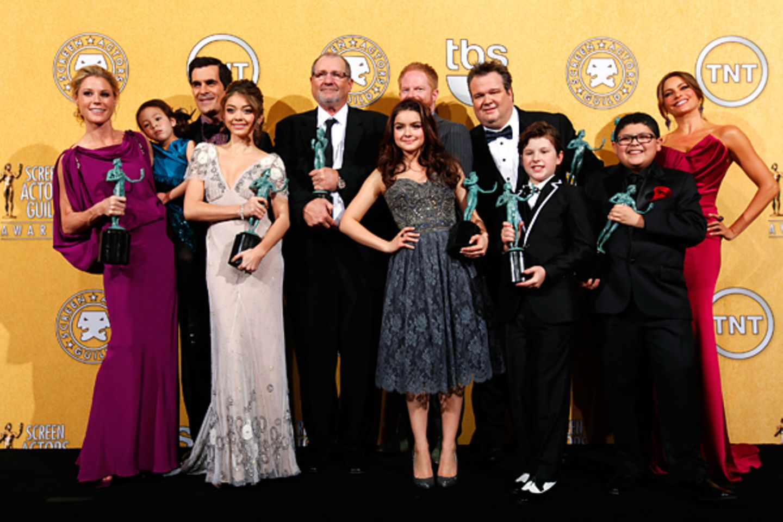"SAG-Awards: Bestes Ensemble einer Comedy-Serie ""Modern Family"""