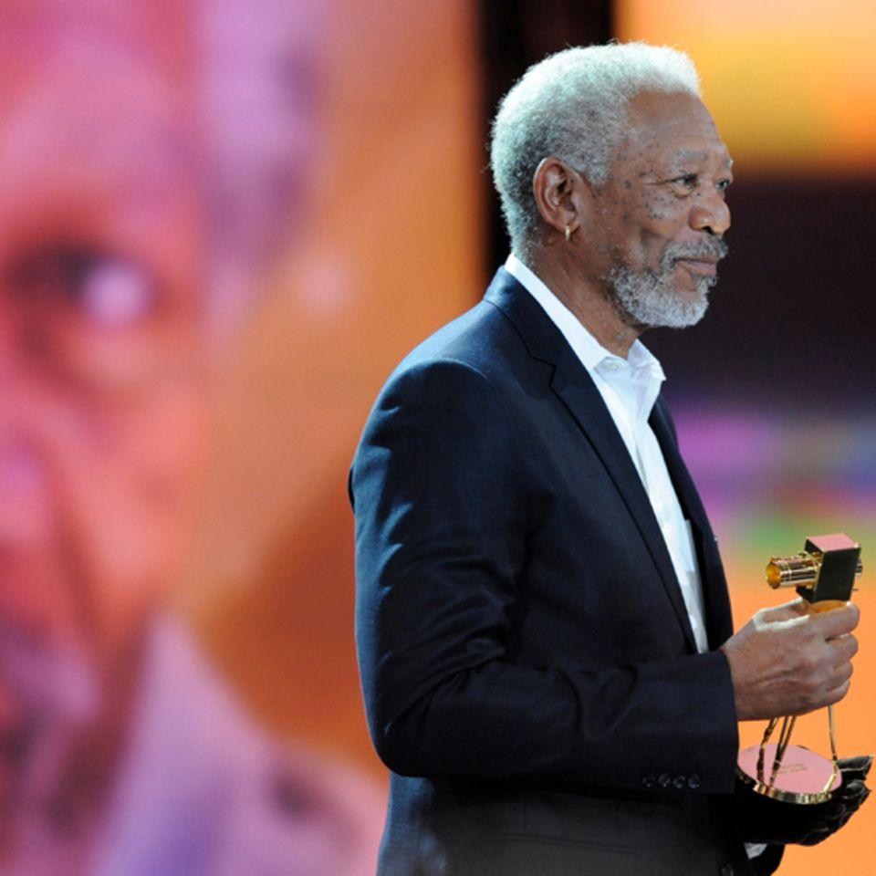 """Morgan Freeman wird geehrt für sein """"Lebenswerk International""""."""