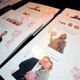 """Die Mitarbeiter bei """"Issey Miyake"""" haben sich für den Event mit einer eigenen Fotobox etwas ganz besonders Schönes einfallen las"""