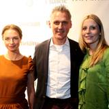 Vanessa Jasmin Panné, Marc Freyberg und Frauke Ebach (BRAX)