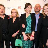 Andreas Lebert, Ingrid Rose, Claudia ten Hoevel, GALA-Chefredakteur Peter Lewandowski und Daniela Kranz ?! posieren gemeinsam