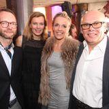 GALA-Modechef Marcus Luft, Astrid Saß, stellvertrende GALA- Chefredakteurin, ??? Drewalowski und Wolfgang Drewalowski