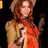 MTV-Moderatorin und DJane Palina Rojinski setzt auf romantischen Cowboy-Look.