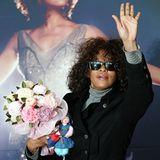"""Februar 2010: Bei ihrer """"Nothing But Love""""-Welttournee, hier in Südkorea, wirkt Whitney Houston alles andere als gesund. Die Sti"""