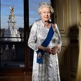 6. Februar 2012: Anlässlich des 60. Thronjubiläum von Queen Elizabeth, wird dieses Foto veröffentlicht.