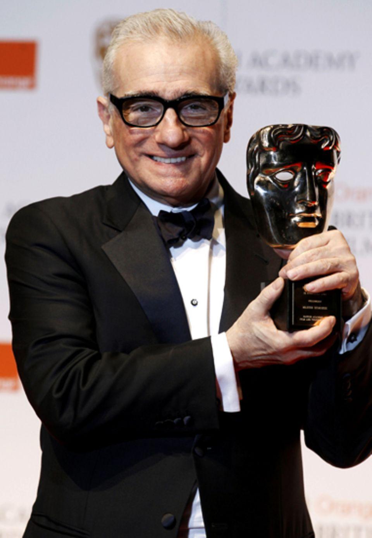 Regie-Altmeister Martin Scorsese kann sich über die höchste Auszeichnung der British Academy of Film and Television Arts freuen: