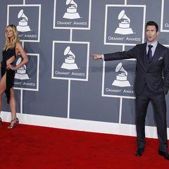 """""""Maroon 5""""-Sänger Adam Levine und seine Modelfreundin Anne Vyalitsyna"""