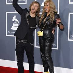 DJ David Guetta mit seiner Frau Cathy