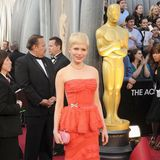 Oscars: 2012: Michelle Williams in Louis Vuitton
