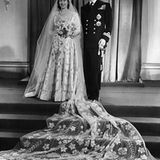 20. November 1047: Elizabeth heiratet Leutnant Philip Mountbatten