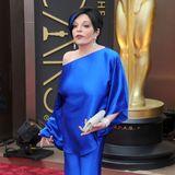 2014: Liza Minnelli  Die 68-jährige Musical-Legende hatte für die Oscar-Nacht kein gutes Händchen. Das leuchtend blaue One-Shoulder-Ensemble passte zwar zur blauen Strähne im Haar, wirkte alles in allem aber doch eher wie ein selbstgenähter Faschingsanzug.