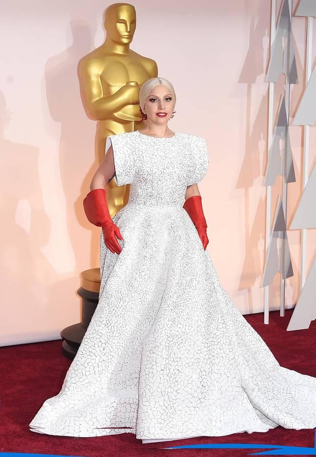 Lady GaGa in Alaia