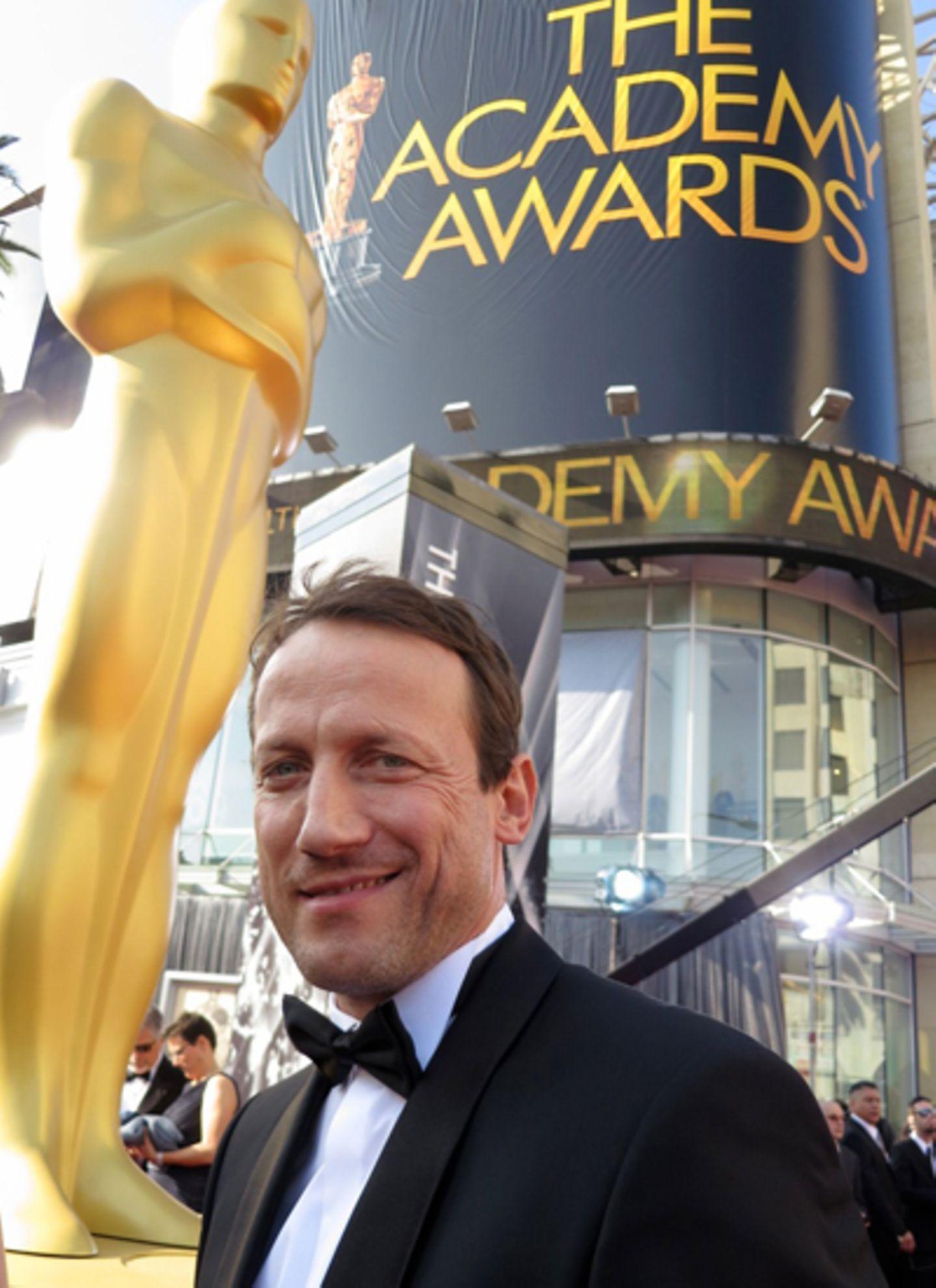 Wotan Wilke Möhring exklusiv für Gala bei den Oscars in Hollywood.