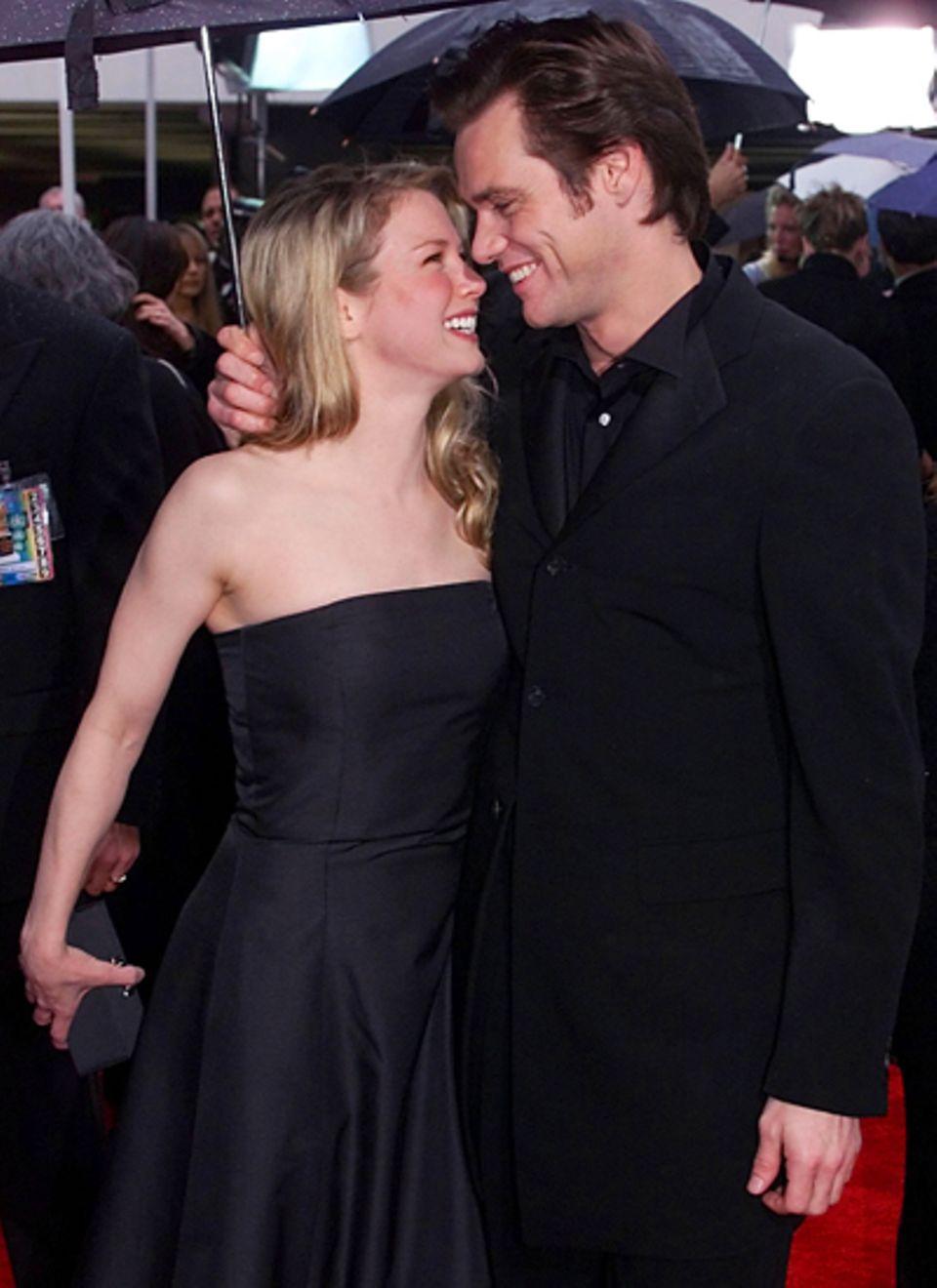 Renee Zellweger und Jim Carrey: Eigentlich passen die beiden perfekt zusammen, doch bereits nach einem Jahr zerbricht das Glück