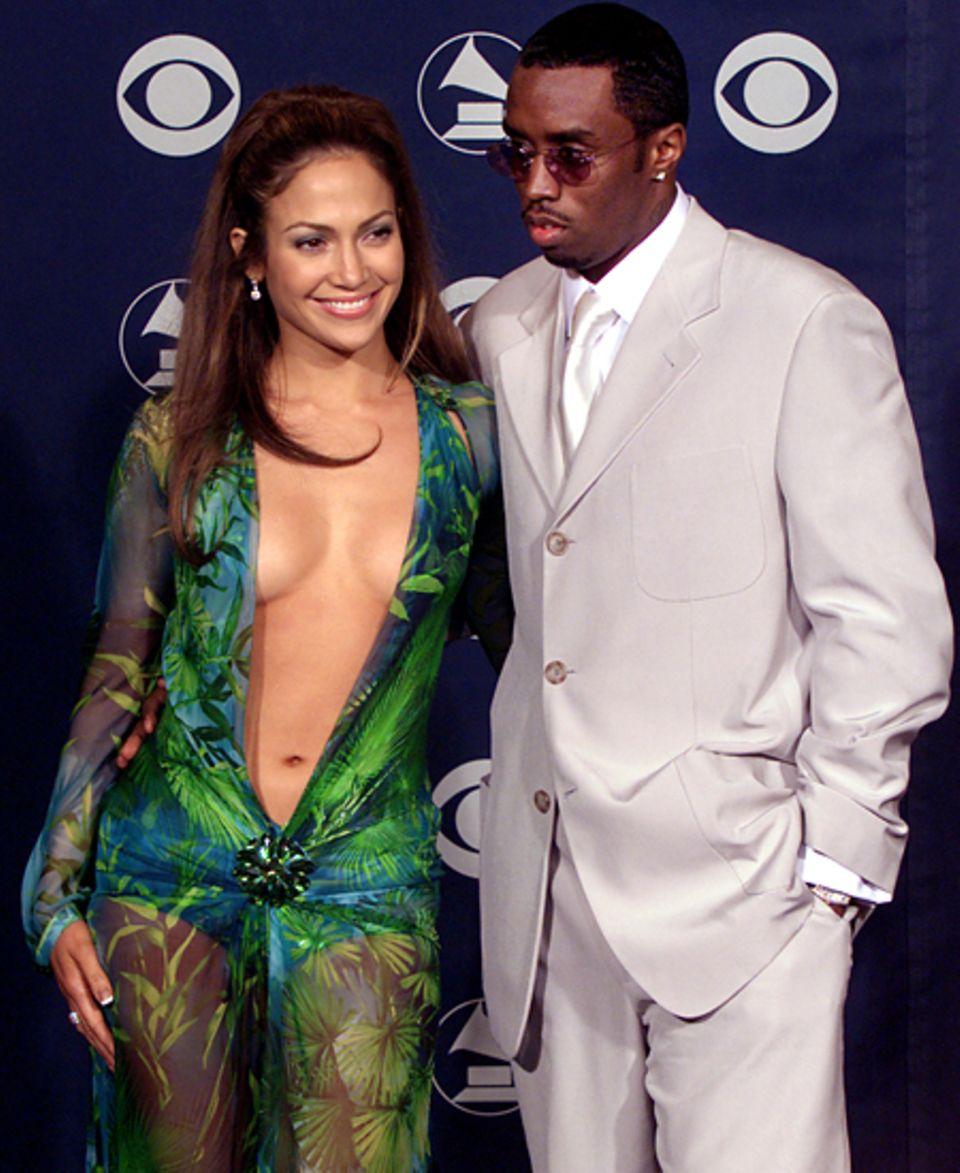 Jennifer Lopez und P. Diddy: Die damals noch relativ unbekannte Jennifer Lopez angelt sich 1999 Superstar P. Diddy. Zwar ist nac