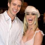 Star Paare:  Justin Timberlake und Britney Spears