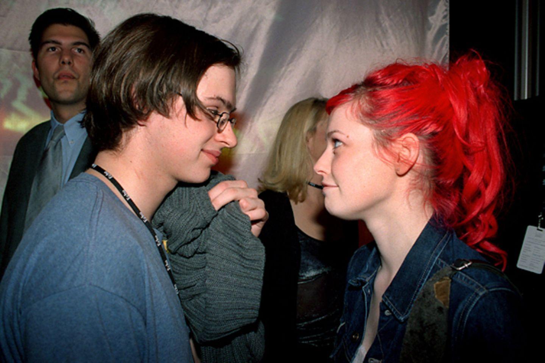 """Kim Frank und Enie van de Meiklokjes: In den 90ern sind alle Mädchen in """"Echt""""-Sänger Kim Frank verliebt. Der hat jedoch nur Aug"""