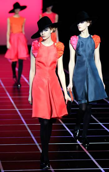 Fashion Week Mailand: Giorgio Armani Herbst/Winter 2012