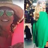 Extensions sei Dank! Im Urlaub hatte Heidi Klum noch schulterlange Haare. Als es dann ein paar Tage später wieder zum Job geht, hat das Supermodel plötzlich lange Haare.