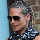 Bo Derek lässt grüßen: Viele kleine, geflochtene Zöpfe zieren Heidis Kopf nach ihrem Besuch auf den Bahamas.