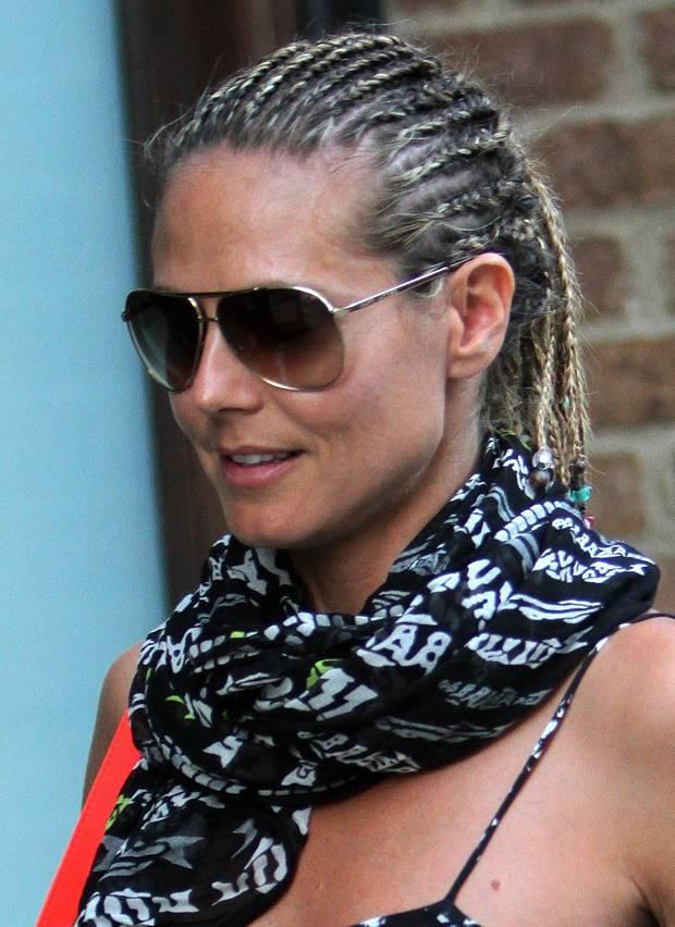 Heidi Klum Hat Kurze Haare S 35 Galade