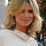 Ordentlich Volumen steckt in dieser Frisur von Heidi Klum.