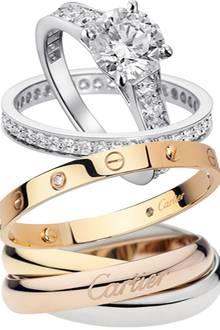 """Erst mit einer Geschichte werden Juwelen zu Ikonen. In den Siebzigerjahren machte das Love-Bracelet (M.) als """"moderner Keuschhei"""