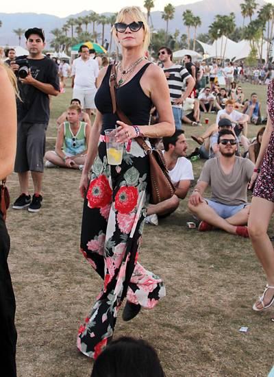 Coachella Valley Music & Arts Festival: Auch Melanie Griffith zählt zu den Festivalbesuchern.