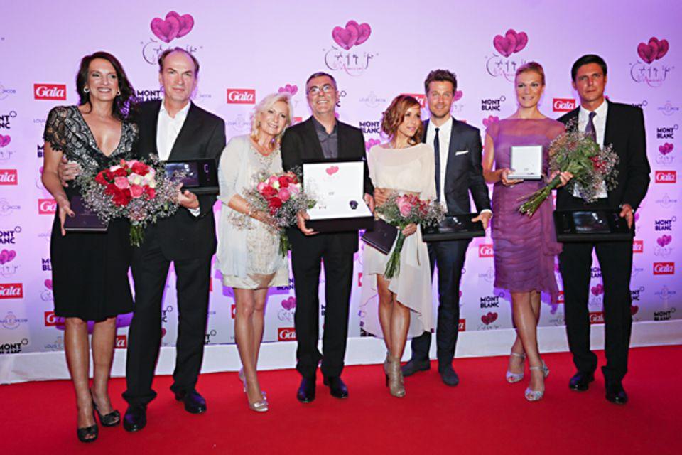 """Unsere """"Couples"""" auf einen Blick: Christiane und Herbert Knaup, Sabine Christiansen und Nobert Medus, Annemarie Warnkross und Wa"""