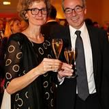 Thomas Wirz (Pommery) mit seiner Frau Katrin