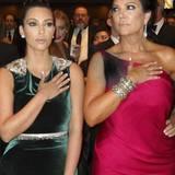 Kim Kardashian und ihre Mutter Kris Jenner