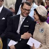 Gesten wie diese zeigen den bewundernswerten Zusammenhalt der schwedischen Königsfamilie.