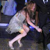Beim Feiern auf der italienischen Insel Ischia holt es Lindsay Lohan von den Beinen.