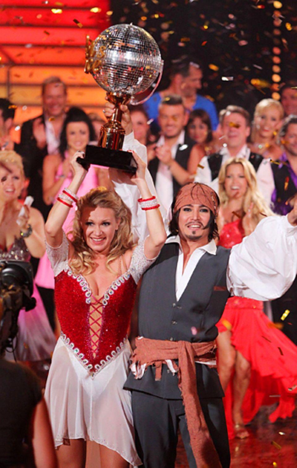 Let's Dance Finale: Magdalena Brzeska mit ihrem Tanzpartner Erich Klann