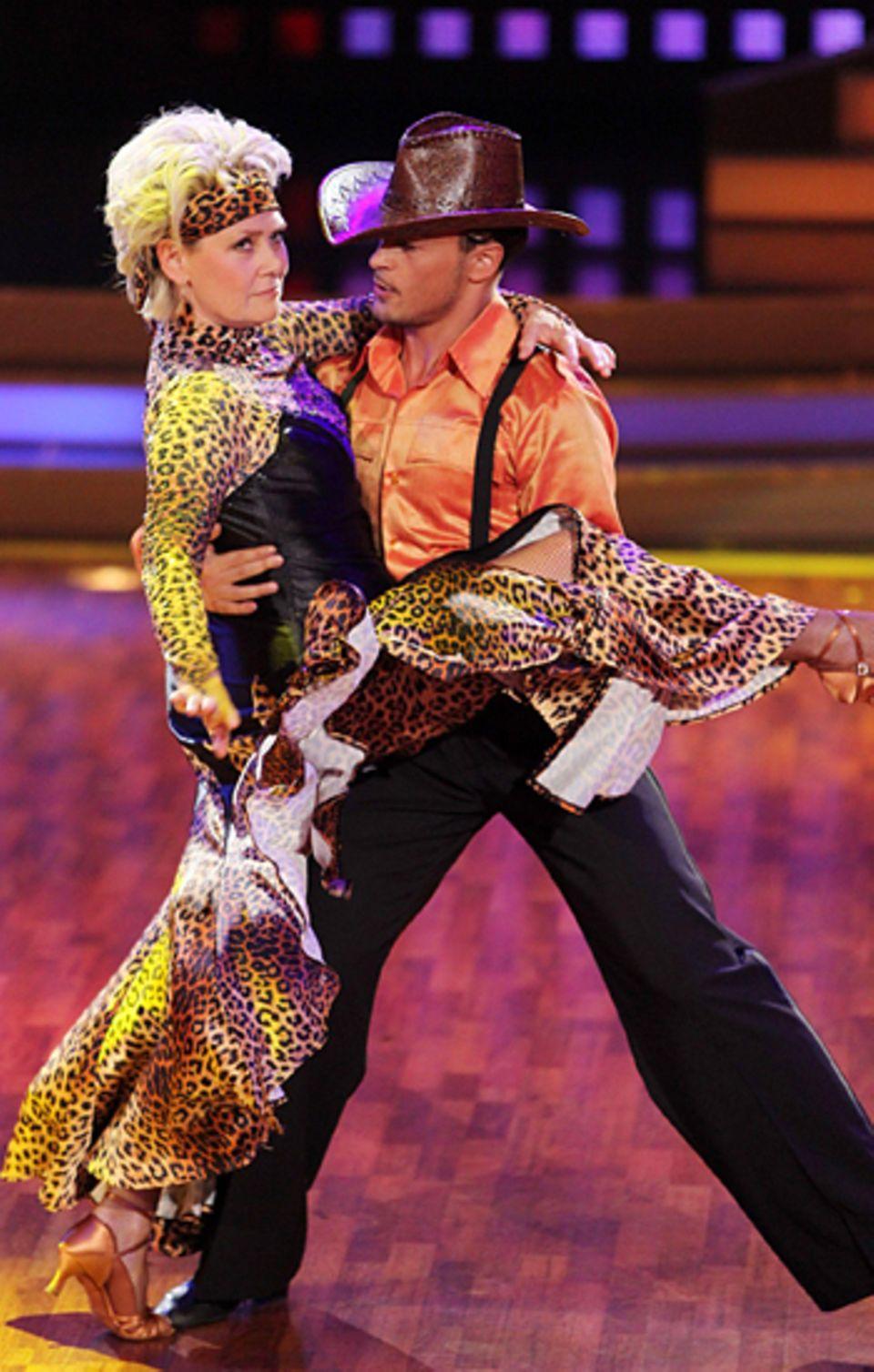 Let's Dance Finale: Gitte Haenning und Gennady Bondarenko