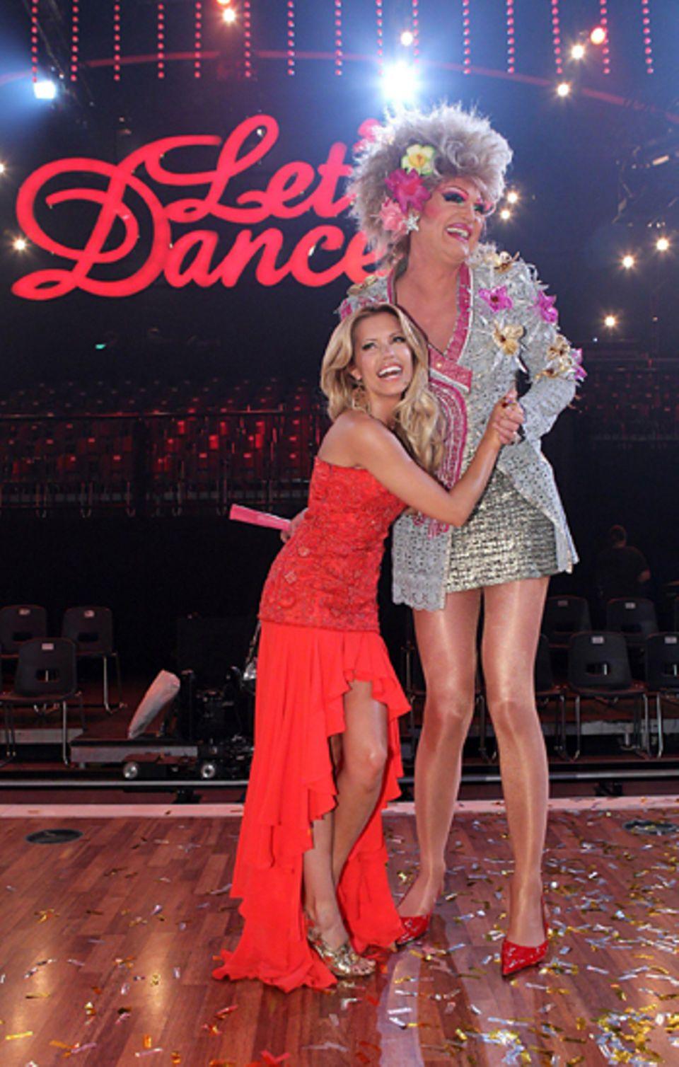Let's Dance Finale: Sylvie van der Vaart mit Olivia Jones