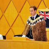 Prinz William - Rede in Neuseeland