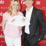 Tina Brack (Ellington Hotel) und Nils Oberschelp (GALA-Geschäftsführer und Verlagsleiter)