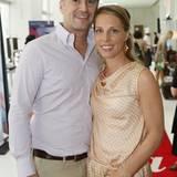 Jens Ciliax (Estée Lauder) und Catherine Sonne (Louis Vuitton)