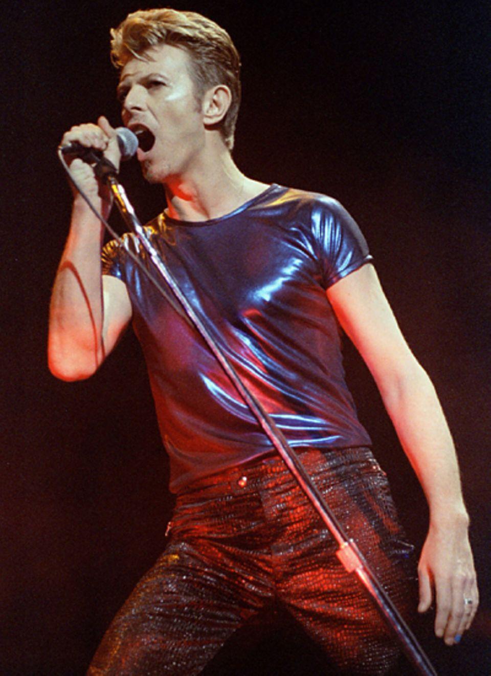 Mick Jagger und die Frauen: David Bowie