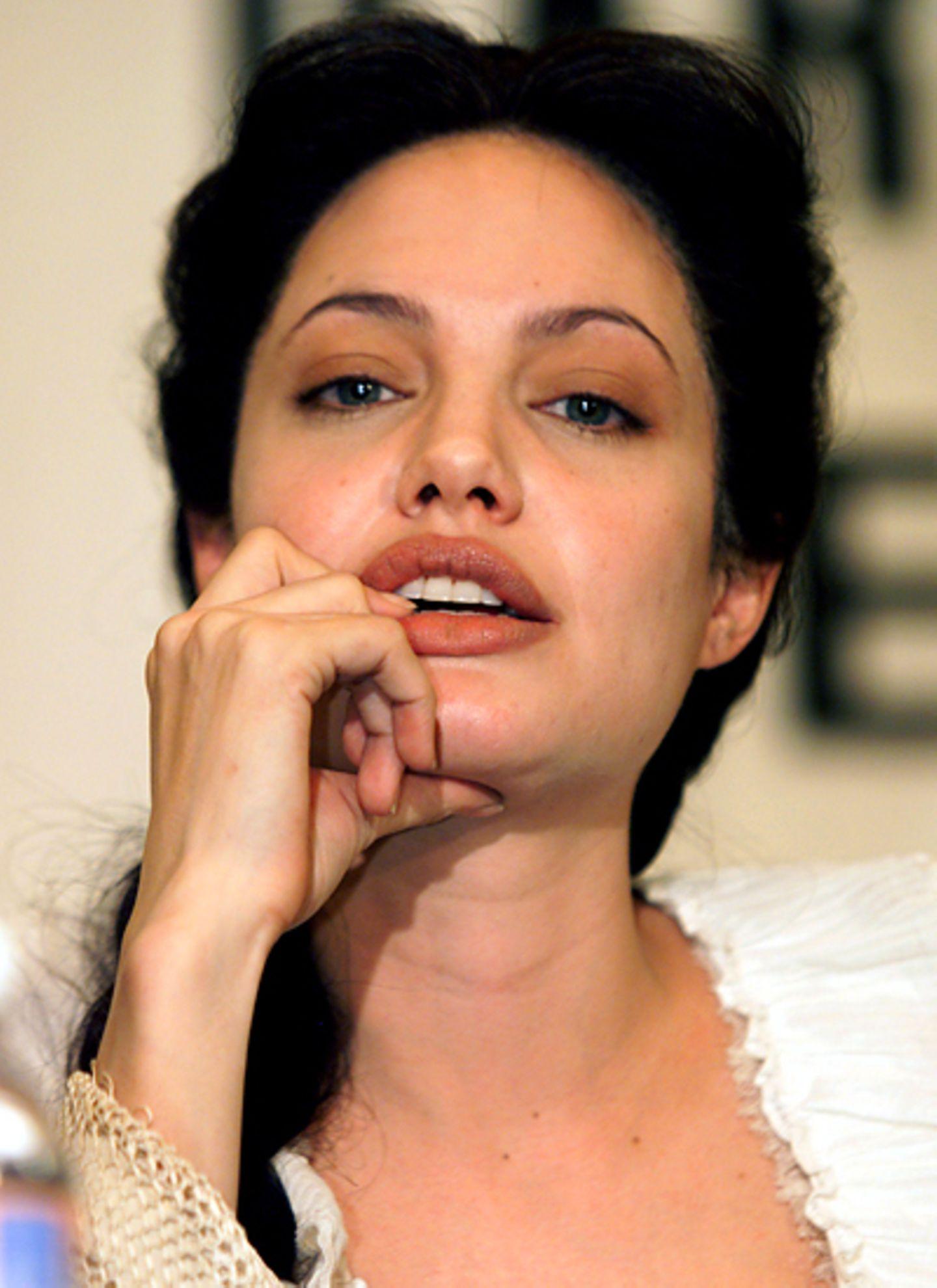 Mick Jagger und die Frauen: Angelina Jolie