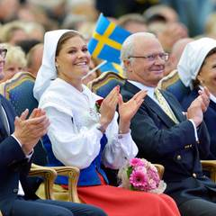 Prinz Daniel, Prinzessin Victoria, König Carl Gustaf und Königin Silivia